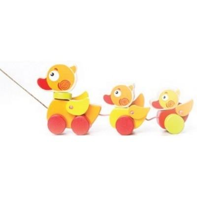 Деревянная игрушка Cubika Утята путешественники (13722)