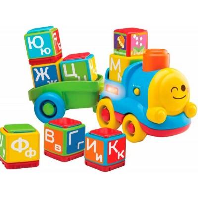 BabyBaby — Развивающая игрушка Поезд — алфавит