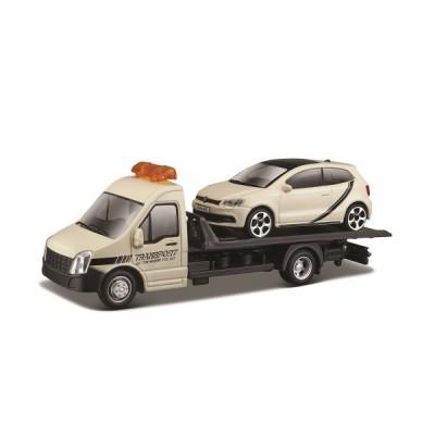 Игровой набор - АВТОПЕРЕВОЗЧИК c автомоделью VW POLO GTI MARK 5 Bburago