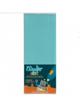 Набор стержней для 3D-ручки (голубой, 24 шт)