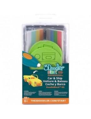 Набор аксессуаров для 3D-ручки - ТРАНСПОРТ (48 стержней, 2 шаблона)