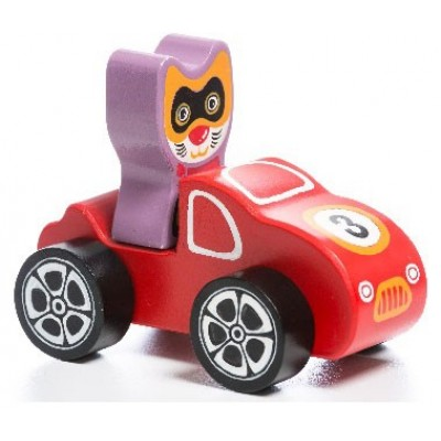 Деревянная игрушка Cubika Машинка Мини Купе LM-5 (12961)