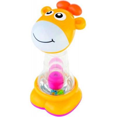 Игрушка погремушка Playgro Весёлый жираф (03087)
