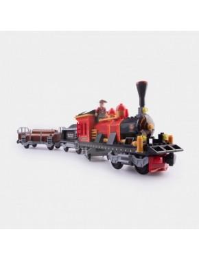 Конструктор Keedo Поезд 406 деталей (25610)