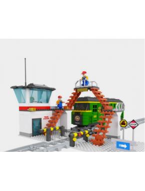 Конструктор Keedo Железная дорога Brik Station (25810)