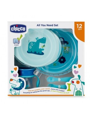 Набор посуды Chicco Meal Set 12мес+ (16201.20)