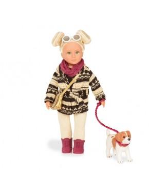Кукла с собачкой Джек Рассел Lori, 15 см (LO31017Z)
