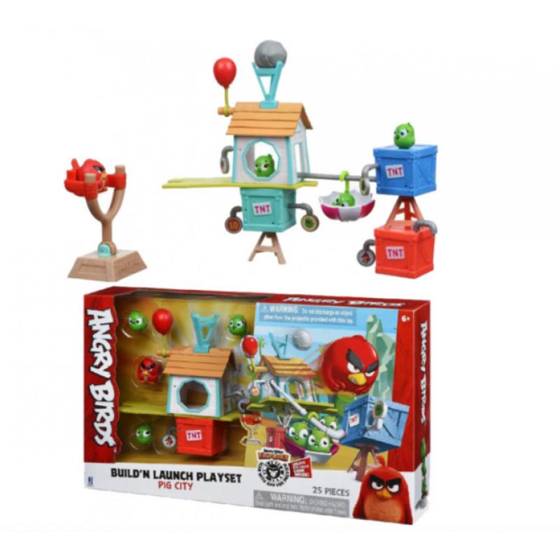 игровой набор Jazwares Angry Birds Anb Medium Playset Pig
