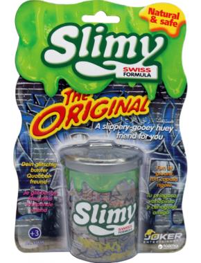 Игрушечная масса  Slimy Лизун в мусорном баке