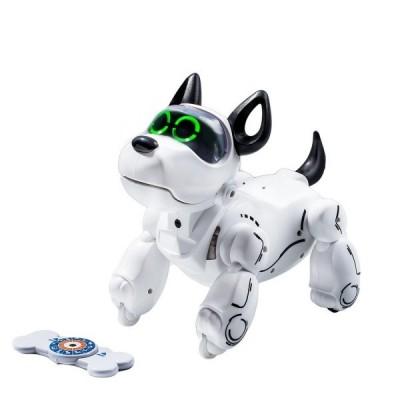 Игрушка собака-робот Silverlit PUPBO белый с черным (88520)