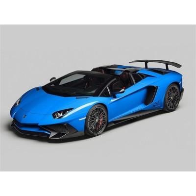 Автомобиль радиоуправляемый - LAMBORGHINI VENENO (голубой, 1:16, батарейки в комплекте) LC258060-8B