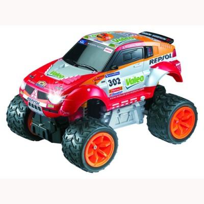 Автомобиль радиоуправляемый - MITSUBISHI 2006 DAKAR PAJERO EVOLUTION RALLY (1:28) LC297010