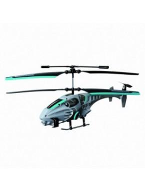 Вертолет на ИК управлении - NAVIGATOR круиз-контроль (синий, 20 см, 3 канальный, с гироскопом) YW858163