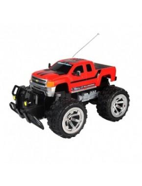 Автомобиль радиоуправляемый - CHEVROLET SILVERADO 2500HD (красный, 1:18) LC226020-2