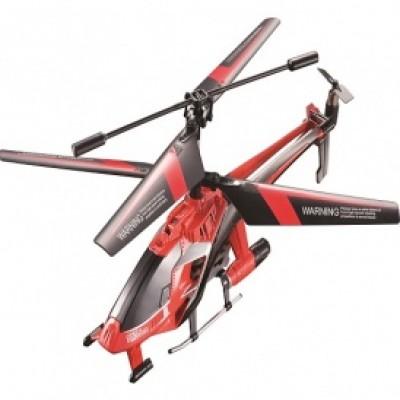 Вертолет на ИК управлении - NAVIGATOR круиз-контроль (красный, 20 см, с гироскопом, 3 канальный) YW858195