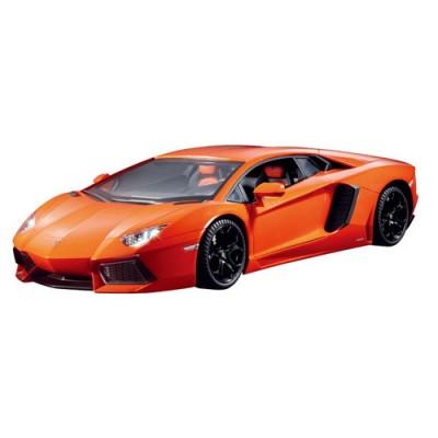 Автомобиль радиоуправляемый - LAMBORGHINI AVENTADOR LP 700-4 (оранжевый, 1:16) LC258050-4