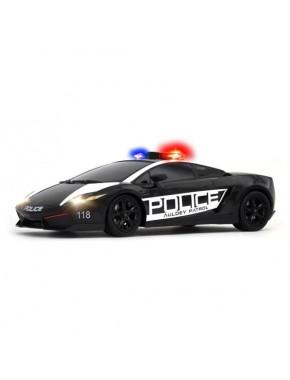 Автомобиль радиоуправляемый -LAMBORGHINI - LP560-4 GALLARDO POLICE (черный, 1:16, полицейск. сирена) LC258840