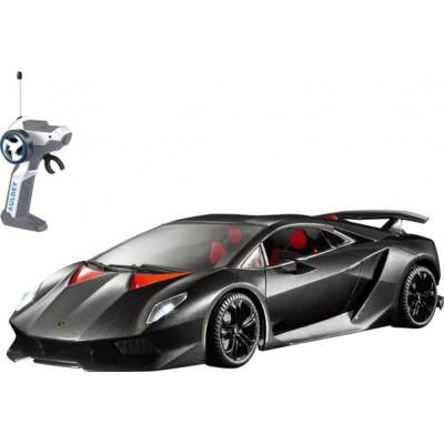 Автомобиль радиоуправляемый - LAMBORGHINI SESTO ELEMENTO (черный, 1:28) LC296040