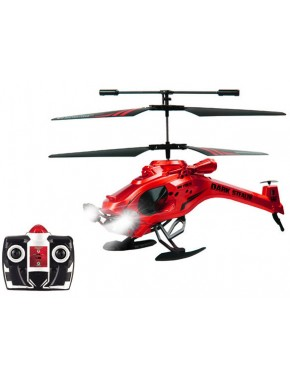 Вертолет на ИК управлении - DARK STEALTH (красный, 22 см, 3-канальный, с гироскопом) YW857104