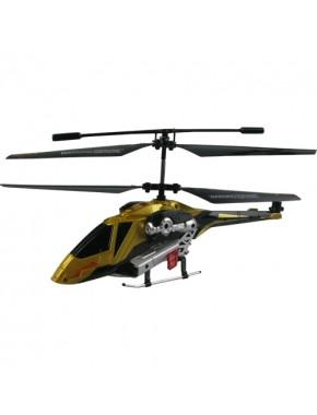 Вертолет на ИК управлении - PHANTOM FORWARD контроль высоты(золотой,20 см,3-канальный,с гироскопом)