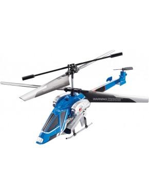 Вертолет на ИК управлении - NAVIGATOR круиз-контроль (синий, 20 см, 3 канальный, с гироскопом) YW858194