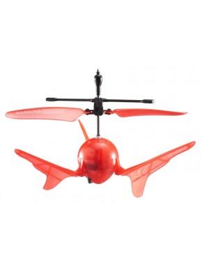 Летающий шар на ИК управлении - AERO SPIN (оранжевый, подсветка) (YW859110-3)