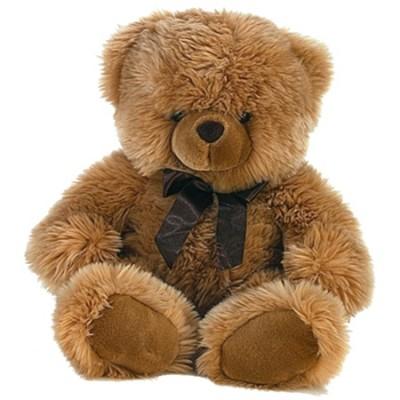Ведмедик Aurora коричневий 43 см