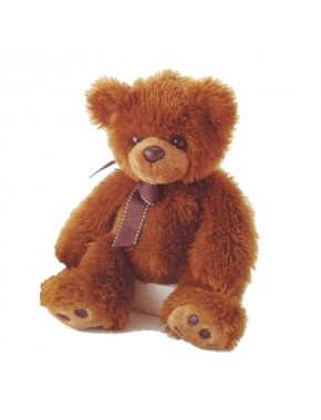 Ведмедик Aurora коричневий 37 см