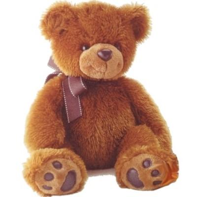 Ведмедик Aurora коричневий 50 см