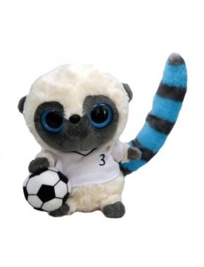 Лемур-футболіст Aurora YooHoo біла футболка 12 см