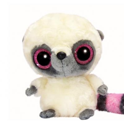 Yoo Нoo Лемур рожевий сяючі очі 23 см