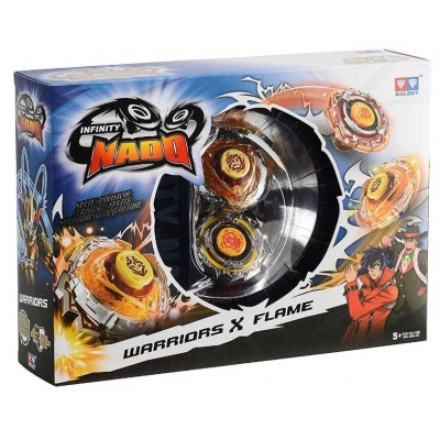 Бейблейды Nado Infinity - сплит Battle Buddha Warriors и Blast Flame с устройством старта (YW624601)