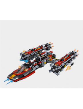 Конструктор Keedo Космический корабль 1758 деталей (25114)