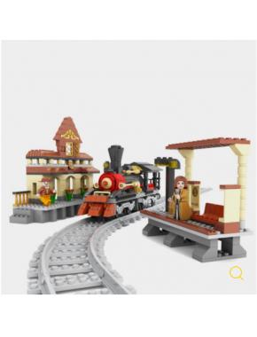 Конструктор Keedo Железная дорога Поезд 462 детали (25811)