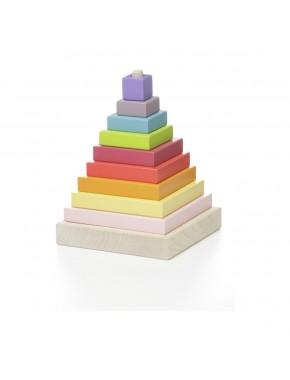 Деревянная пирамидка Cubika LD-5 (12329)