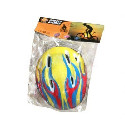 Детский шлем для роликов Babyhit Желтый