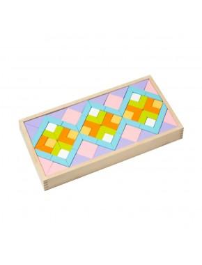 Деревянная мозаика Cubika Орнамент LR-1 (11698)