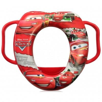 Накладка на унитаз ОКT kids Cars Красный, мягкая (12644)