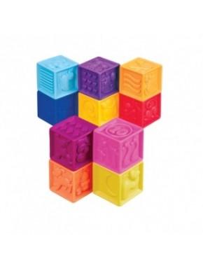 Развивающие силиконовые кубики - ПОСЧИТАЙ-КА!