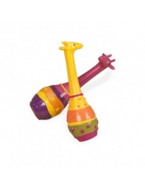 """Музыкальная игрушка серии """"ДЖУНГЛИ"""" - набор маракасов ДВА ЖИРАФА BX1251GTZ"""