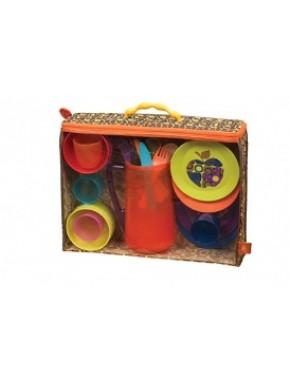 Игровой набор - КРАСОЧНЫЙ ПИКНИК (25 предметов)