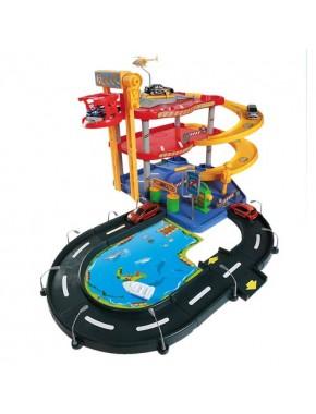 Игровой набор - ГАРАЖ (3 уровня, 2 машинки)