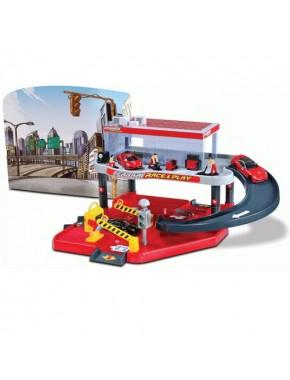 Игровой набор Bburago Гараж Ferrari, 2 уровня (18-31231)