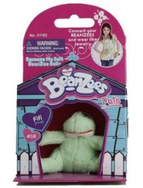 Мягкая игрушка BeanZees Лягушонок 5 см