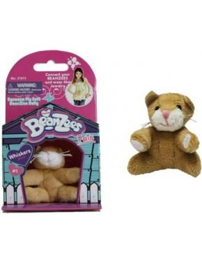 Мягкая игрушка BeanZees Котенок 5 см