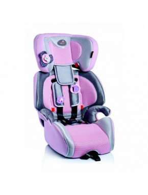 Автокресло Bellelli Gio Plus Bear Fix Pink-Grey (01GIP043IFBBY)