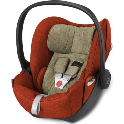 Автокресло Cybex Cloud Q PLUS Autumn Gold-burnt red (517000053)