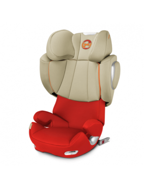 Автокресло Cybex Solution Q3-fix Autumn Gold burnt red (517000091)