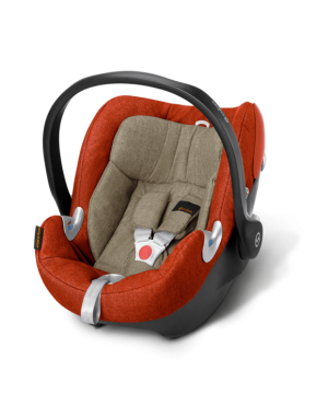 Автокресло Cybex Aton Q Plus Autumn Gold-burnt red (515104153)