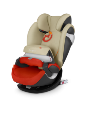 Автокресло Cybex Pallas M-fix Autumn Gold burnt red (517000185)